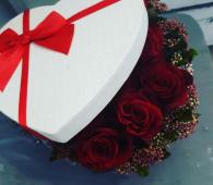 Flower box 7 ruža