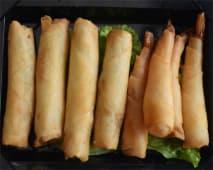 A28. Crepes Vegetais + Crepes Gambas 8 Peças