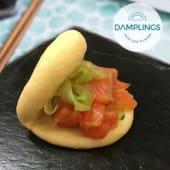 Salmon Gua Bao