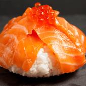 Chirashi de salmón