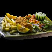 Filete de pescado a la Calipso