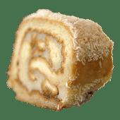 Pastel manta de coco