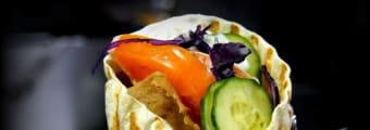 Kebab bułka duża