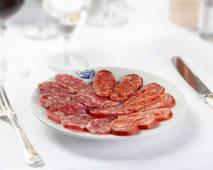 Salame di felino e salsiccia napoletana piccante