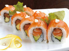 Uramaki Salmone Roll
