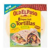 O.e.paso Flour Tortillas 8s