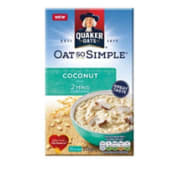 Quaker Oat So Simple Coconut (333g)