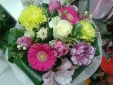 Bouquet medio misto fiori di sagione