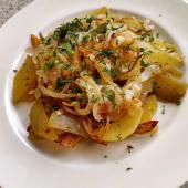 Картопля смажена по-домашньому з цибулею та спеціями (250г)