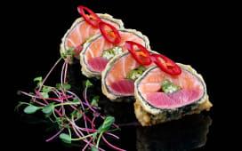 Теплий рол Tuna&Salmon (250г)