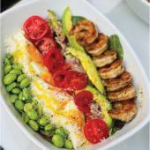 Salad cobb Shrimp