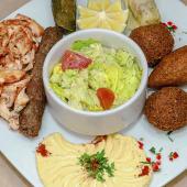 Plato mixto especial vegetariano