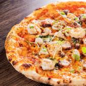 Pizza del mar (6 porciones) (25% de descuento)