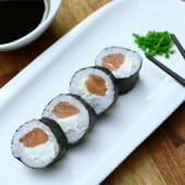 Maki salmón y Philadelphia (5 uds.)