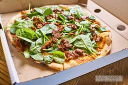 Pizza Mascarpone e spinaci  32cm Wege