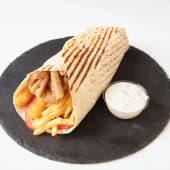 Wrapachinka (kebab wrap grilled version)