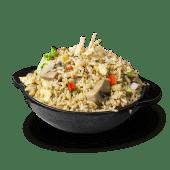 Taza chaufa vegetariano