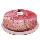 Pastel Grande De Helado Cheese Cake De Frambuesa