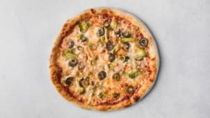 Пицца вегетарианская 440 г.