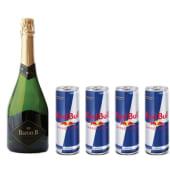 Baron B 750 ml + 4 Red Bull