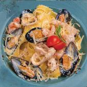 Домашня паста з морепродуктам (340г)
