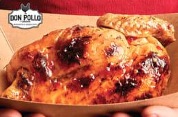 Mezzo pollo sweet spicy