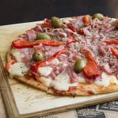 Pizza especial morrones