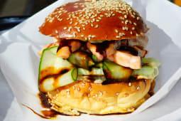 Somon Teriyaki Burger