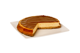 Cheesecake dulce de leche (porción)
