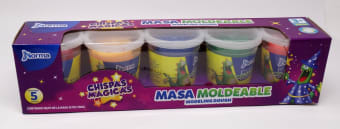 Masa Para Moldear Plegadiza 5X5Onz Chispas Magicas 550186
