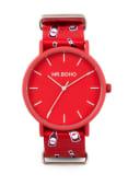 Reloj Mahou by Mr. Boho, tercio rojo