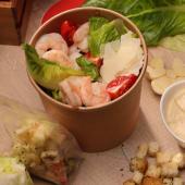 Salată caesar cu creveți