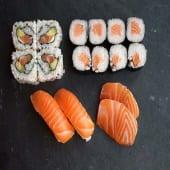 Box 3 salmón lovers (16 piezas)