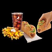 Combo: Triplelupa + Fiesta Fries Supreme + Bebida 32oz