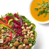 Zestaw Sałatka Wege Miska z zupą