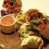 Burrito de entrécula a la brasa