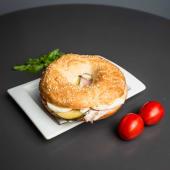 Ham& eggs sandwich