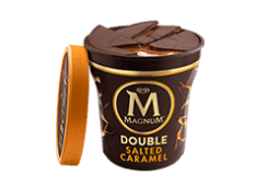 Tarrina Magnum double salted C (440 ml.)
