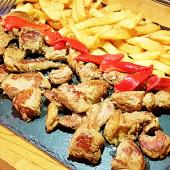 Tacos De Ternera Asturiana Con Salsa De Queso Cabrales