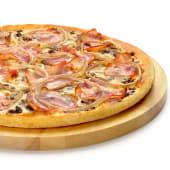 Pizza carbonara (mediana)
