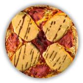 Pizza Carpaccio de Llom Ibéric (mitjana)