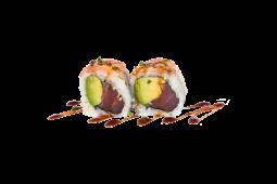 Uramaki Tuna Avocado (4 Peças)