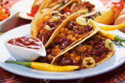 Tacos chilli con carne