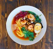 Сой Рамен с морепродуктами