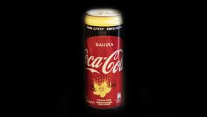 Кока-кола ваніла ж/б (0,33л)