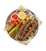 Колбаски ручной работы из конины (200/200/150/60 гр.)