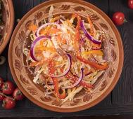 Теплий овочевий салат (300г)