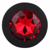 608 - Plug rubino medio L8 cm D5 cm
