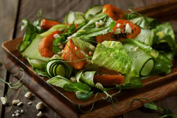 Салат с бататом (225г)