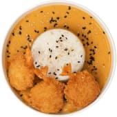 Curry Giallo con Gamberi-Piccante